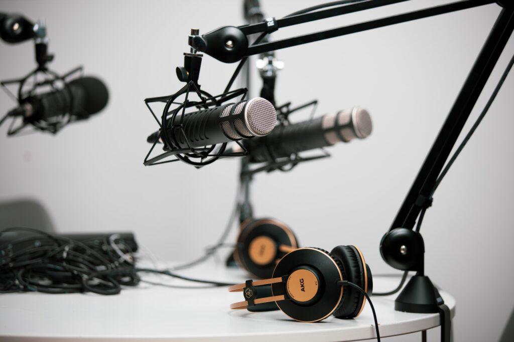 'Set' para grabación de podcasts